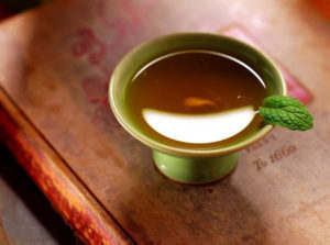 A cup of tea representing mindfulness
